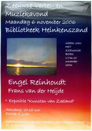 Zeeuwse vertel- en muziekavond in de bibliotheek m.m.v. Engel Reinhoudt en Frans…