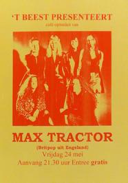 optreden van Max Tractor