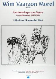 tentoonstelling van Wim Vaarzon Morel in museum De Schotse Huizen