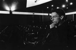 PZC-verslaggever Jaap Versluijs in de bioscoop.