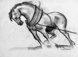 Trekpaard.