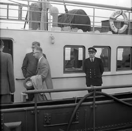 minister Jacob Algera (1902-1966, minister (ARP) van Verkeer en Waterstaat van 2…
