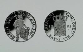 Zeeuwse zilveren dukaat. De muntmeester van de Nederlandse Munt, drs. Chr. van D…