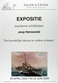 expositie van maritieme schilderijen van Joop Henneveld bij Sauer & Oonk notaris…