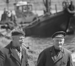 gepensioneerde vissersmannen