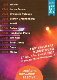 programma van Zeeland Nazomerfestival in het festivalhart van Middelburg