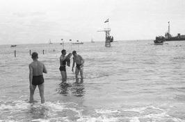 Schelde-beker, zwemwedstrijd van Breskens naar Vlissingen