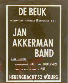 optreden van de Jan Akkerman band