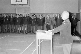 Luitenant-kolonel F. Beenen neemt het commando over van luitenant-kolonel H.G. C…