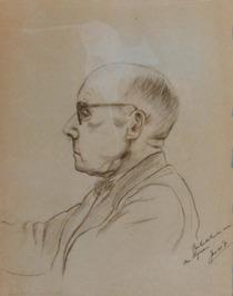 portret van M. Hijmans