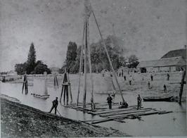 heistelling bij aanleg brug