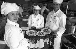 scholieren Delta College presenteren maaltijd uit zeewier