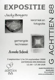expositie van Jacky Bongers en Anneke Schenk in G Achttien 88