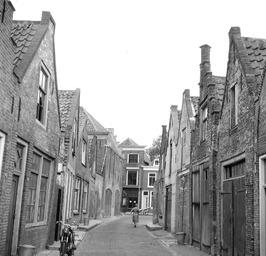 voor de renovatie, gezien vanaf de Nieuwe Haven richting Sint Domusstraat