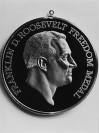 medaille The Franklin D. Roosevelt Four Freedoms Awards