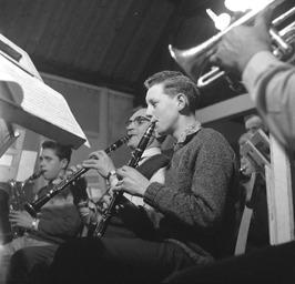 repetitie van het Middelburgs Muziek Korps