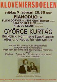 concert in de Kloveniersdoelen