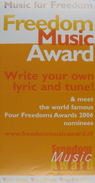 music for freedom award