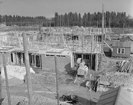 Nieuwbouw aan de Valckeslotlaan.