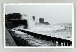 storm, golven; dag voor watersnoodramp ????