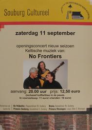 openingsconcert m.m.v No Frontiers georganiseerd door de vrienden van de Histori…