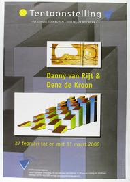 tentoosntelling van Danny van Rijt emn Denz de Kroon in het Stadhuis