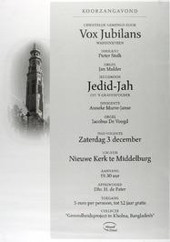 concert door o.a. jeugdkoor Jedid-Jah in de Nieuwe kerk