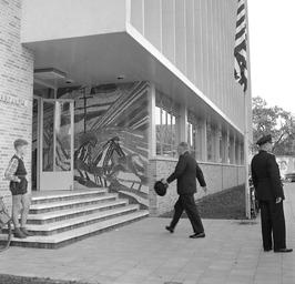 opening van het Landbouwcentrum, CdK de Casembroot