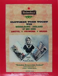 oldtimer toertocht georganiseerd door de Heineken Brouwerijen Zeeland