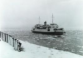 Kruiningen-Perkpolder; sneeuw, de prins Hendrik