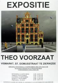 expositie van Theo Voorzaat Vismarkt, St. Domusstraat en in galerie Lieve Hemel …