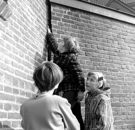 scheur in muur