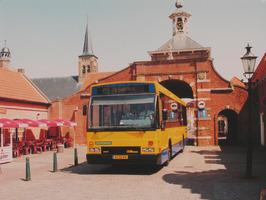Buslijn nr. 12 van Connexxion naar Draaibrug bij de Kaaipoort, de enige overgebl…