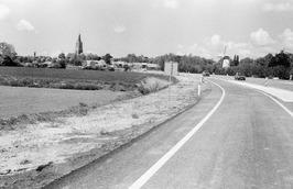 wegverbeteringen en viaduct even ten oosten van Kloetinge