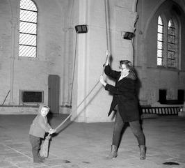 klokkenluidster van de Sint Baafskerk