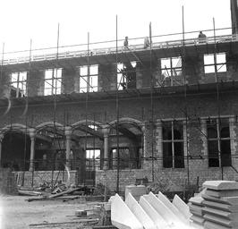 wederopbouw van Statenzaal en commissariswoning