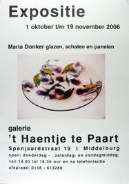 expositie van Maria Donker in galerie 't Haentje te Paart