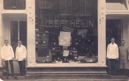 de 28e winkel van Albert Heijn werd geopend op 6 juni 1906 op huisnummer B 116, …