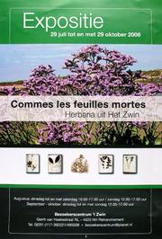 expositie Herbaria uit het Zwin