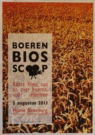 boerenbioscoop met korte films van en over boeren getoond op Hoeve Batenburg