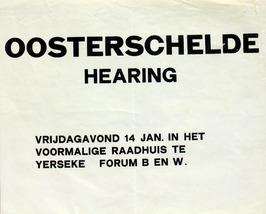 Oosterschelde hearing