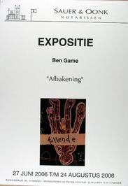 expositie van Ben Game bij Sauer & Oonk notarissen