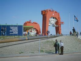 bouw pijlerdam; Ostrea; informatiecentrum