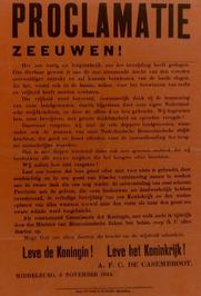 proclamatie Zeeuwen!