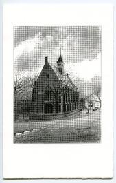 Nederlands Hervormde kerk uit 1324.