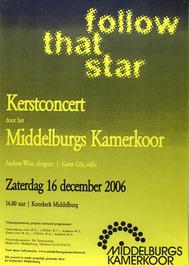 kerstconcert door het Middelburgs kamerkoor