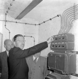 opening silo door burgemeester Bolkestein