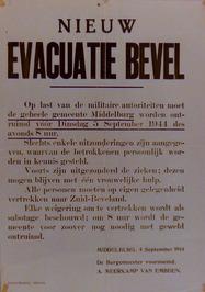evacuatie bevel