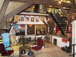 Interieur Gdyniamuseum.