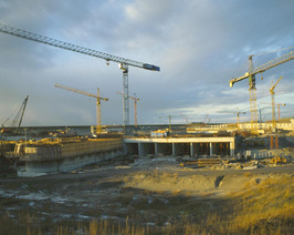 bouw pijlerdam